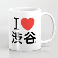I ♥ Shibuya Mug