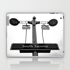 Urban train sign Laptop & iPad Skin