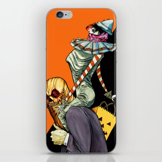 All Hallows March iPhone & iPod Skin