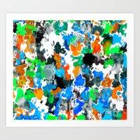 Used Smock 2 Art Print