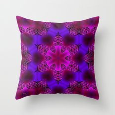 Abstract X Two Throw Pillow