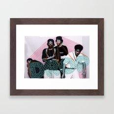 Embroidered Pharcyde Framed Art Print