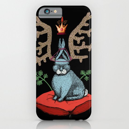 King of Fools 2 (Blue Rabbit) iPhone & iPod Case