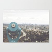 The View: Mulholland Canvas Print
