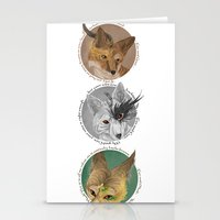 aesops  Stationery Cards