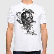 Lost Translation Mens Fitted Tee Ash Grey SMALL
