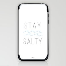 Stay Salty iPhone & iPod Skin