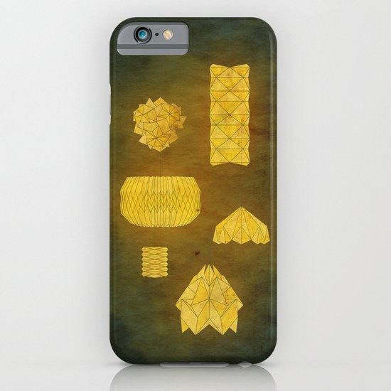 Under Origami Skies iPhone & iPod Case