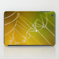 The Spiders Web - Fall Colors iPad Case
