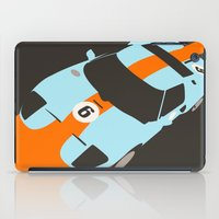 Orange Notch - Ford GT40… iPad Case