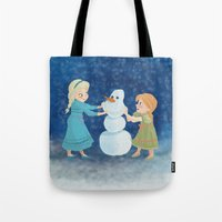 Do You Want To Build A Snowman? Tote Bag
