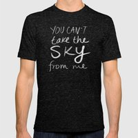 Sky Mens Fitted Tee Tri-Black SMALL
