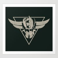 UFO Robot Goldrake Art Print