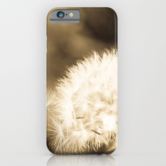 Dandelion Breeze iPhone & iPod Case