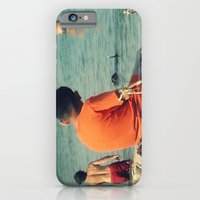 iPhone & iPod Case featuring Summer Swim ~ lake by helene smith photography