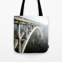 Bixby Canyon Bridge Tote Bag
