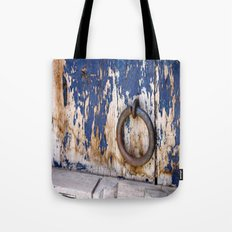 Entrance to an Old World Tote Bag