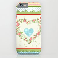 Abstract Peace And Love iPhone 6 Slim Case