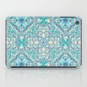 Gypsy Floral in Teal & Blue iPad Case