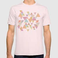 Triunity Mens Fitted Tee Light Pink SMALL