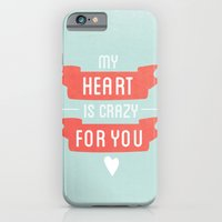 iPhone & iPod Case featuring Crazy For You by ItsJessica
