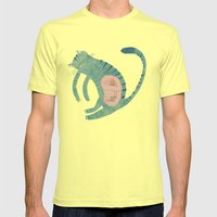 internal conspiracy Mens Fitted Tee Lemon SMALL