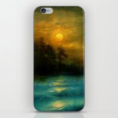 Hope, in the turquoise water. iPhone & iPod Skin