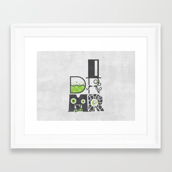 DR MR Framed Art Print