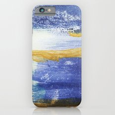PAINTED WITH THE BLUES iPhone 6s Slim Case