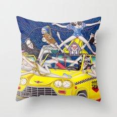 少女時代 - Girls Generation / Gouache Original A4 Illustration / Painting Throw Pillow