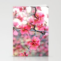 Evening Quince Stationery Cards