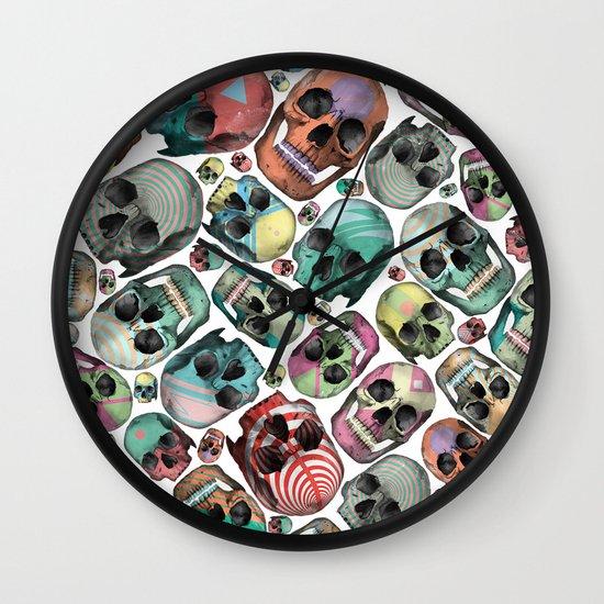 Skulls Wall Clock