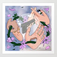Eternal Oblivion Art Print