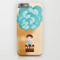 iPhone & iPod Case featuring Flotando con mi imaginación by Golosinavisual