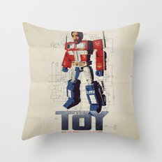 The Toy Poster Throw Pillow