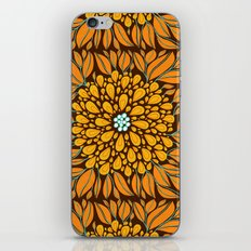 Autumn Floral iPhone & iPod Skin