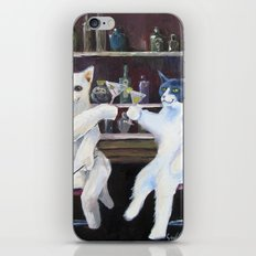 Social Cats  iPhone & iPod Skin