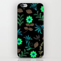 Flower Pattern XI iPhone & iPod Skin