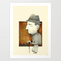 Cesare Art Print