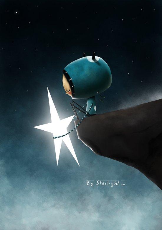 By starlight... Canvas Print