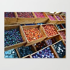Beadazzled Canvas Print