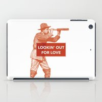 Looking out for love iPad Case