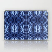 Topanga Tie-Dye Blue Laptop & iPad Skin
