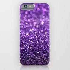 purple glitter I iPhone 6 Slim Case