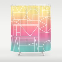 Kaku Quattro Shower Curtain