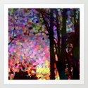 Jellybean Skies Art Print