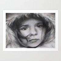 The Homeless Child Art Print