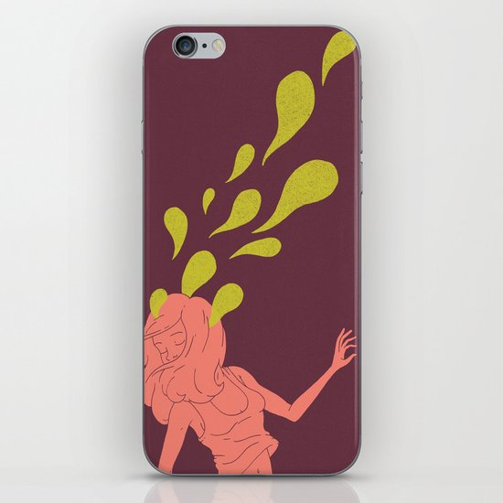 Haunted Hair iPhone & iPod Skin