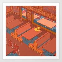 Dots Cafe, Portland Oreg… Art Print