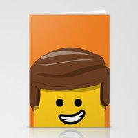 Brick Builder Stationery Cards